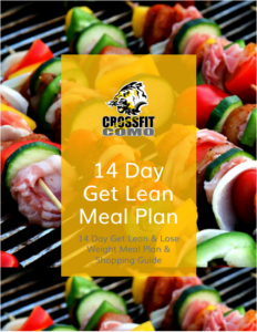 CrossFit COMO 14 Day Get Lean Meal Plan and Shopping Guide