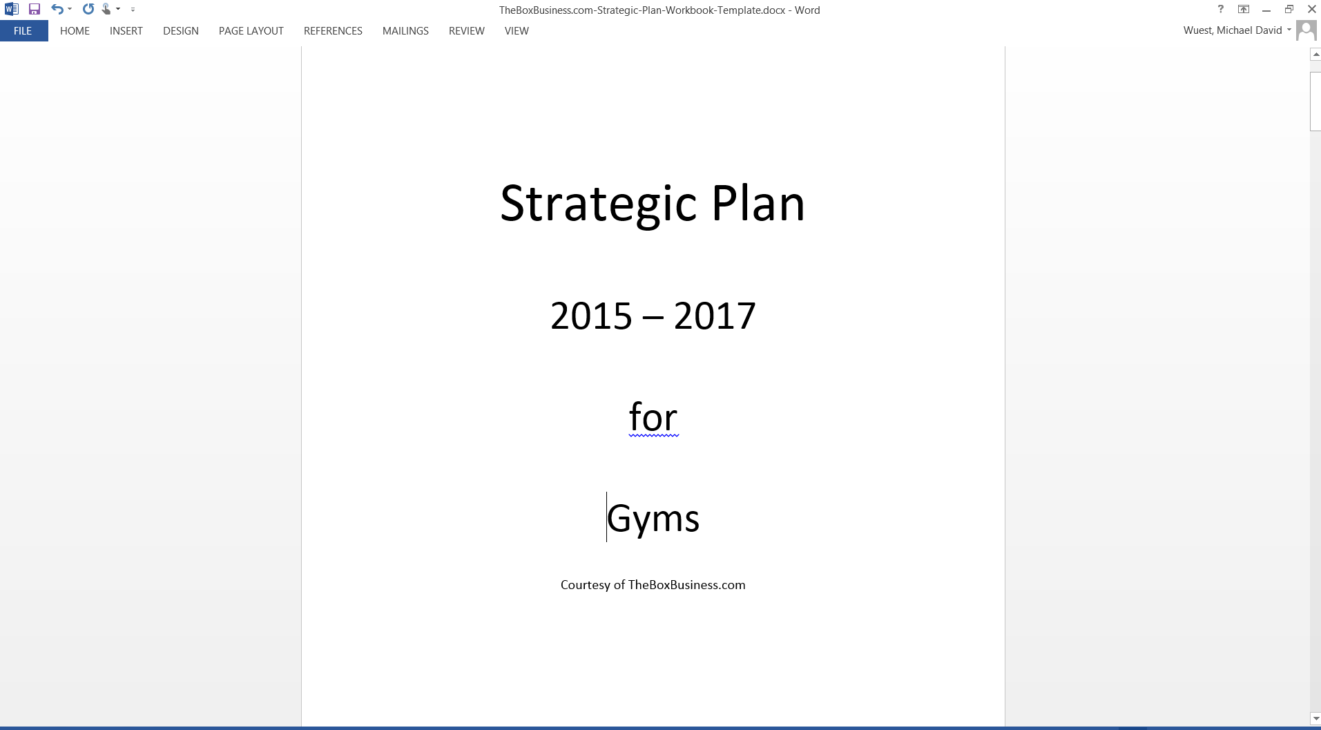 strategic planning for your gym a step by step guide theboxbusiness